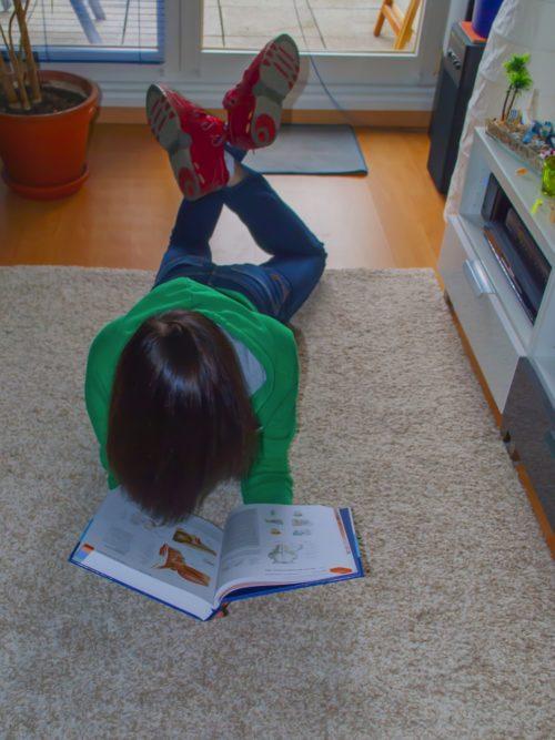 Hendrik beim Lernen