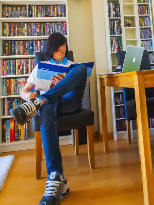 Beim Lernen