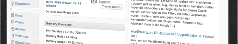 Kostenloser Wordpress-Blog inkl. de-Domain