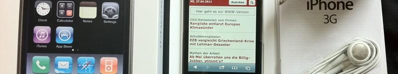 iPhone 3G 16GB - weiß -