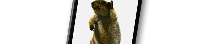 Murmeli, das sprechende Murmeltier auf deinem iPhone