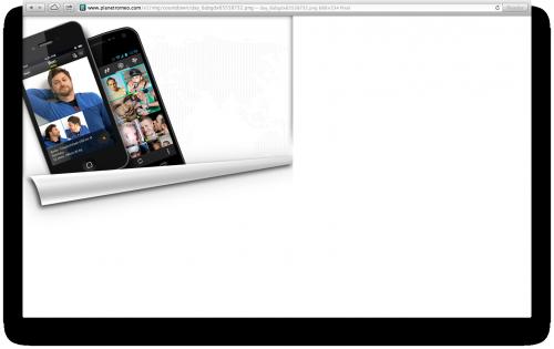 So sehen sie aus, die neuen PlanetRomeo Apps für iOS und Android (Screenshot aus der CSS-Datei)