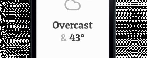 Teuflisches Wetter