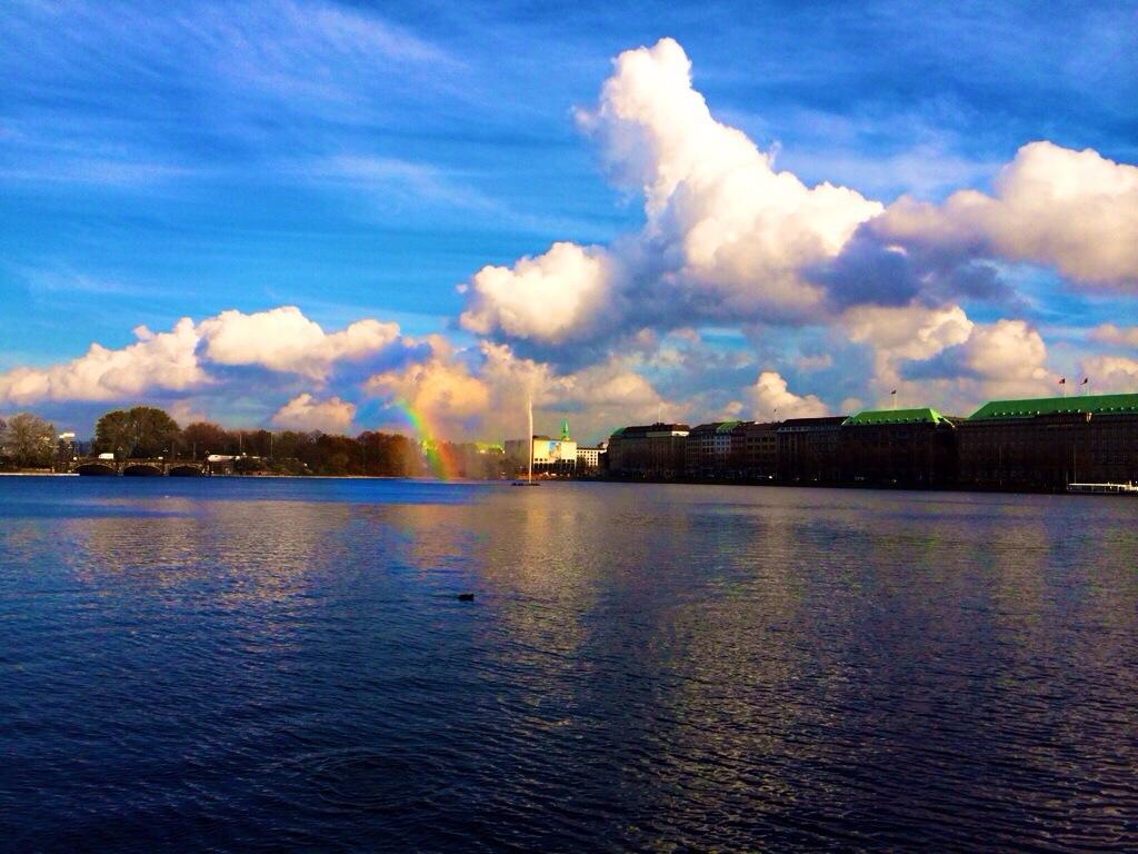 Ein Regenbogen der Hoffnung