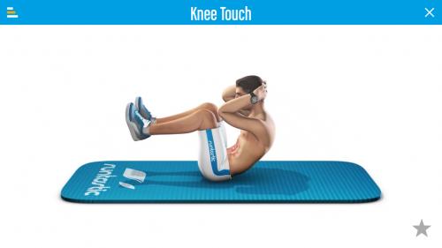 Knee Touch wollten mir einfach nicht geklingen… Mit Hebel-Crunch fand ich Ersatz