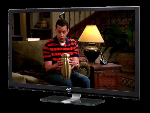 Auf dem Fernseher mit Smart TV oder Apple TV - Ausschnitt Two and a half Men auf Amazon Prime Instant Video