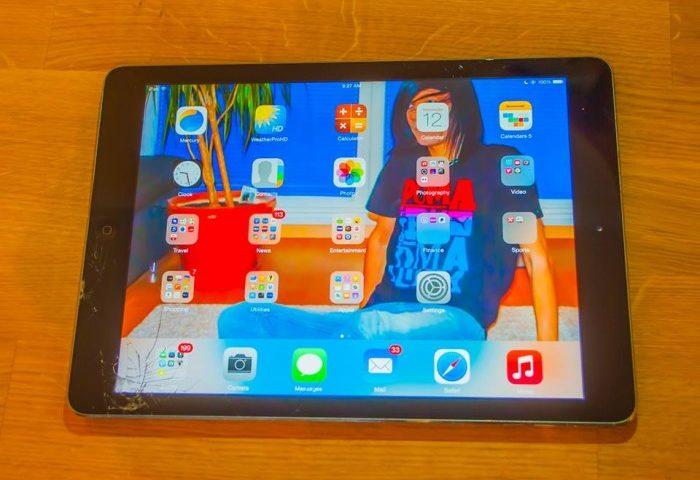 Glasbruch beim iPad Air