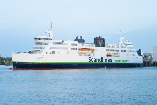 Scandlines-Fähre Prins Richard, Puttgarden