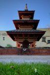 Nepalesischer Pagodentempel
