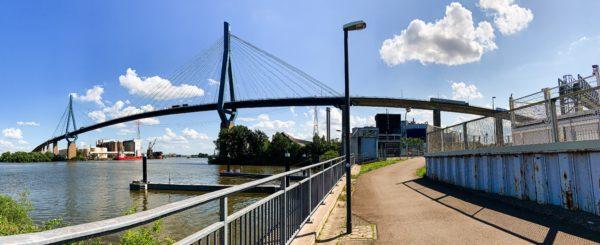 Panorama Köhlbrandbrücke