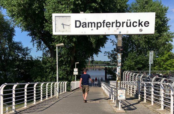 Dampferbrücke Finkenwerder