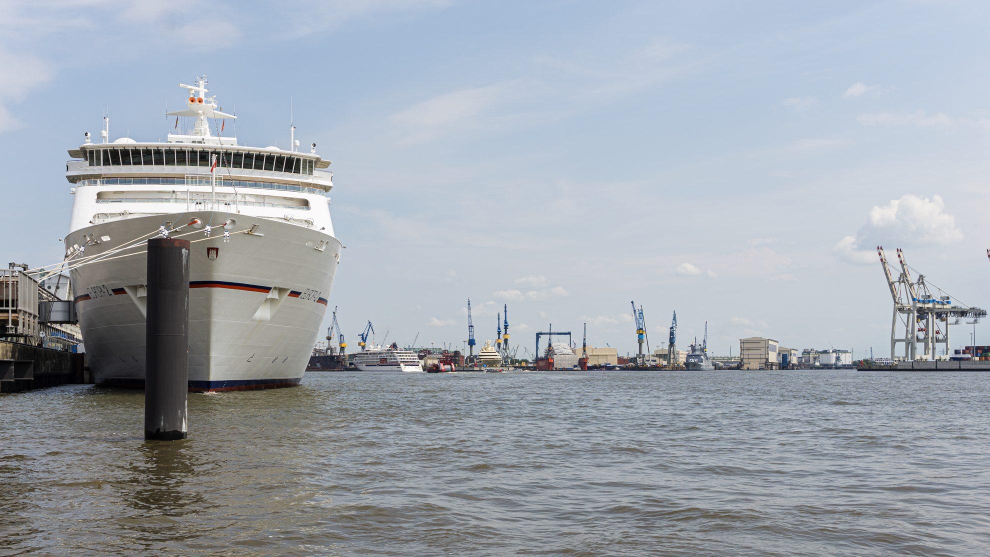 Hapag Lloyd Cruises Ships MS Europa 2 and Europa 1, Hamburg