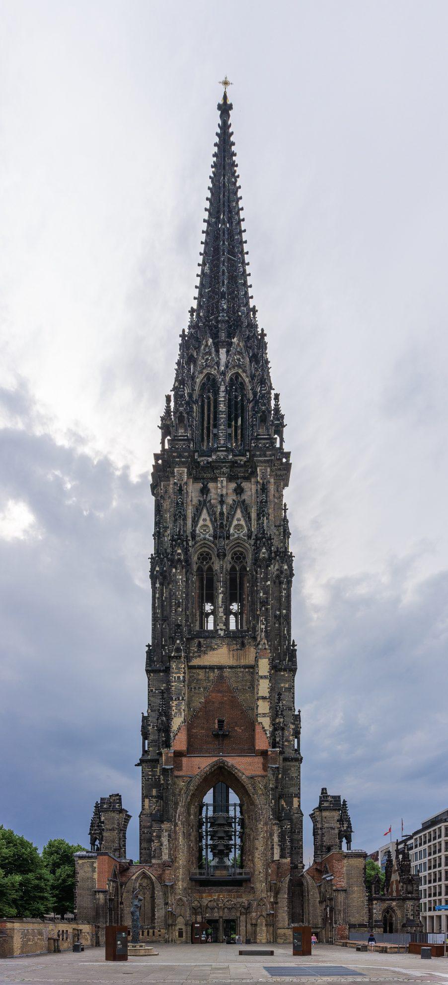 Tower St. Nicholas Church, Hamburg