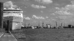 Hapag Lloyd Cruises Ships MS Europa 2 und Hanseatic Nature - Black& White