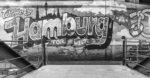 Hamburg - Tor zur Welt - Graffiti in schwarz-weiß