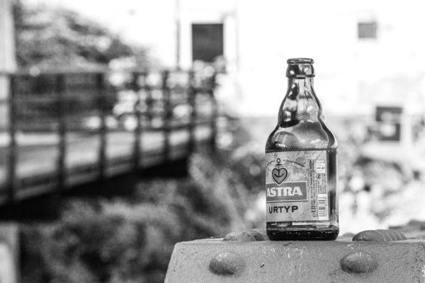 Bierflasche Astra