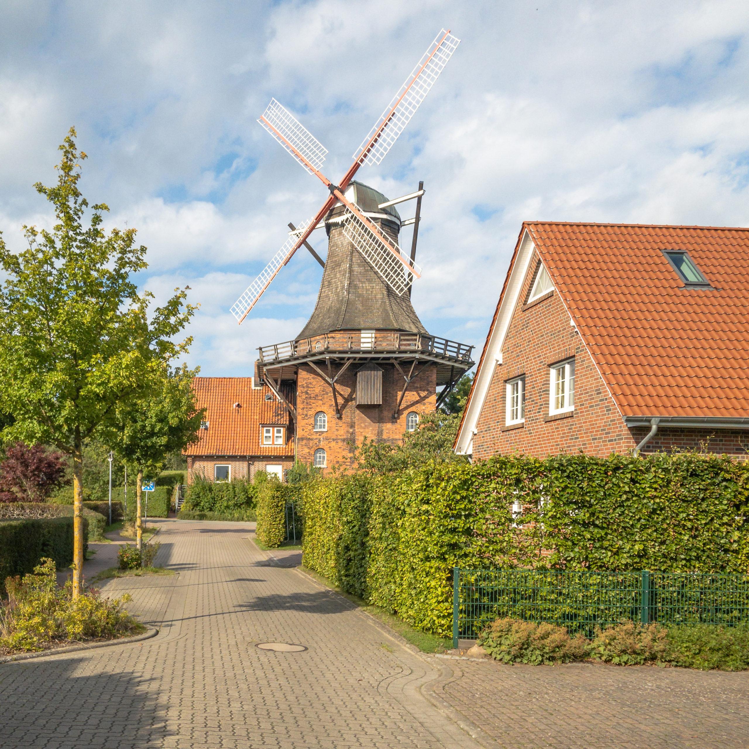Windmühle Aurora, Jork, Altes Land