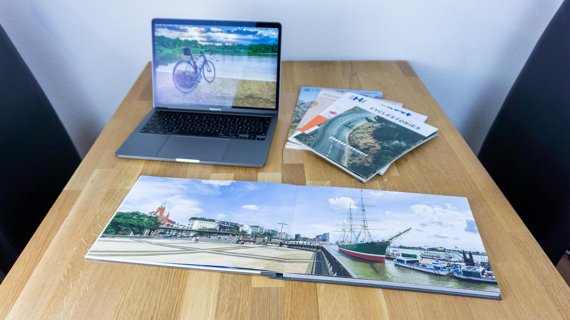 SaalDigital Fotbuch-Review - Panoramabild im Fotobuch