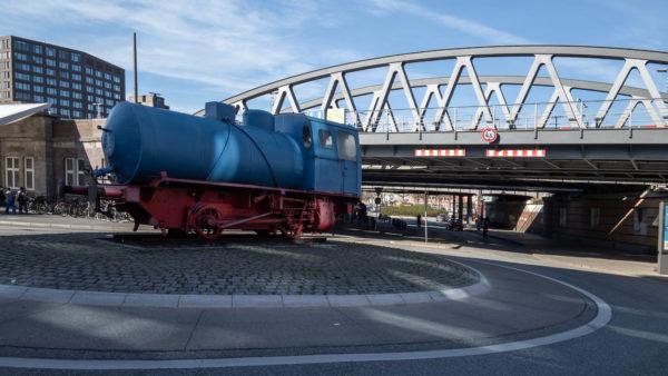 Hafendampflok (Dampfspeicherlok)