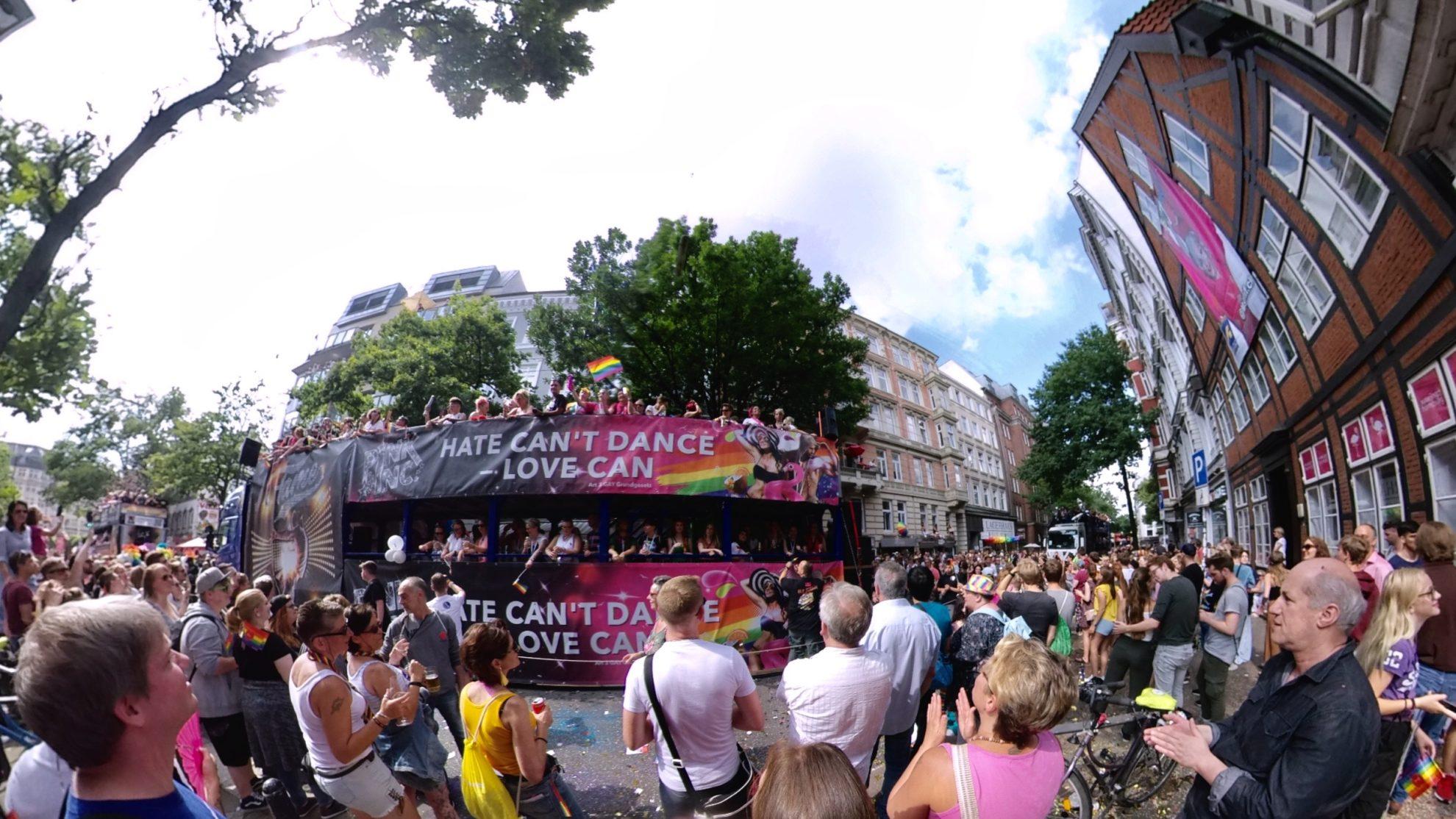 Hamburg Pride Parade 2019 Trucks