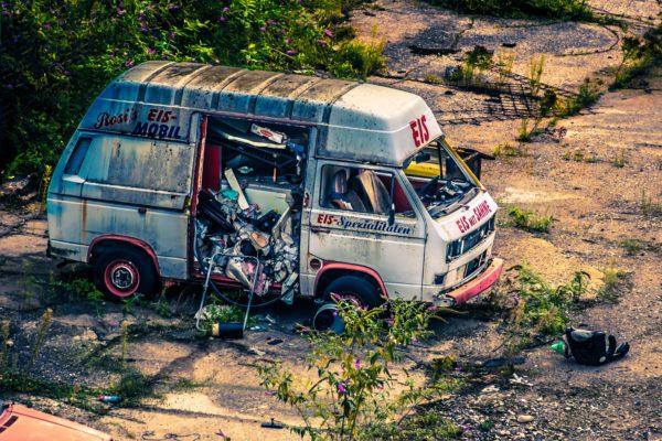 Schrott VW-Bus