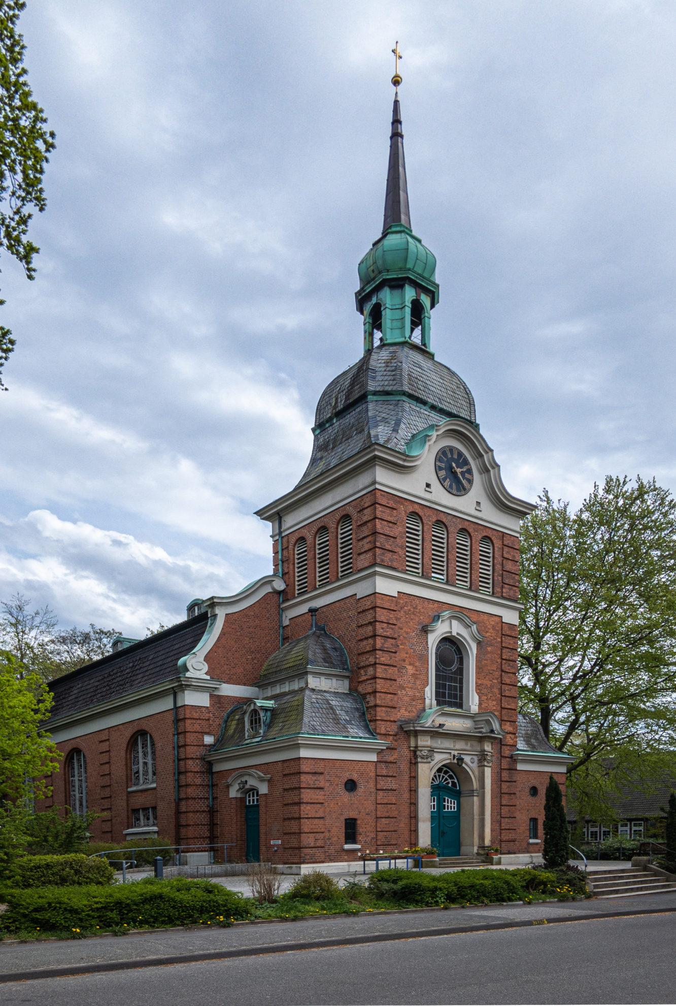 Evangelisch-lutherische Lutherkirche, Bahrenfeld