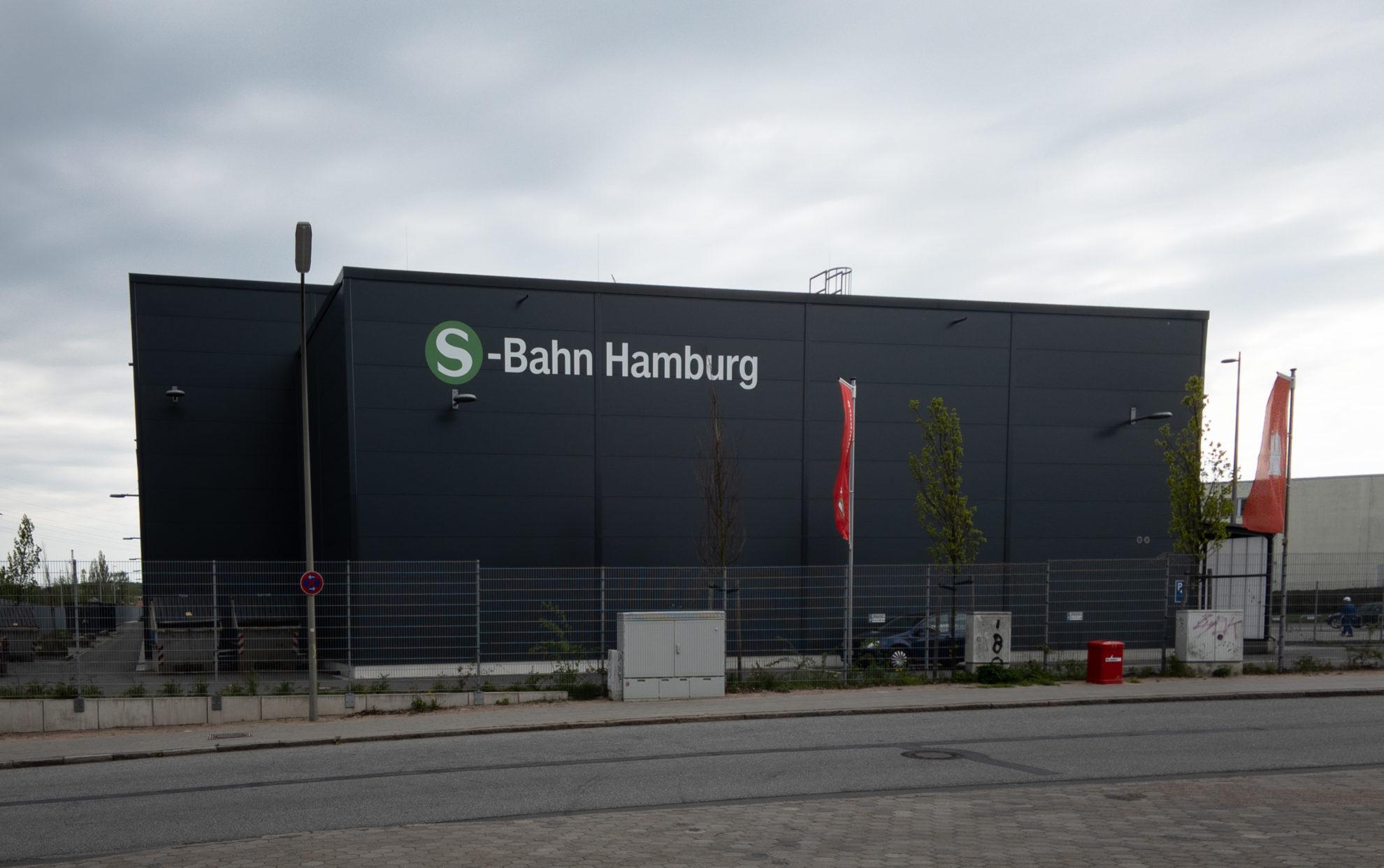 S-Bahn-Ausbesserungswerk Elbgaustraße