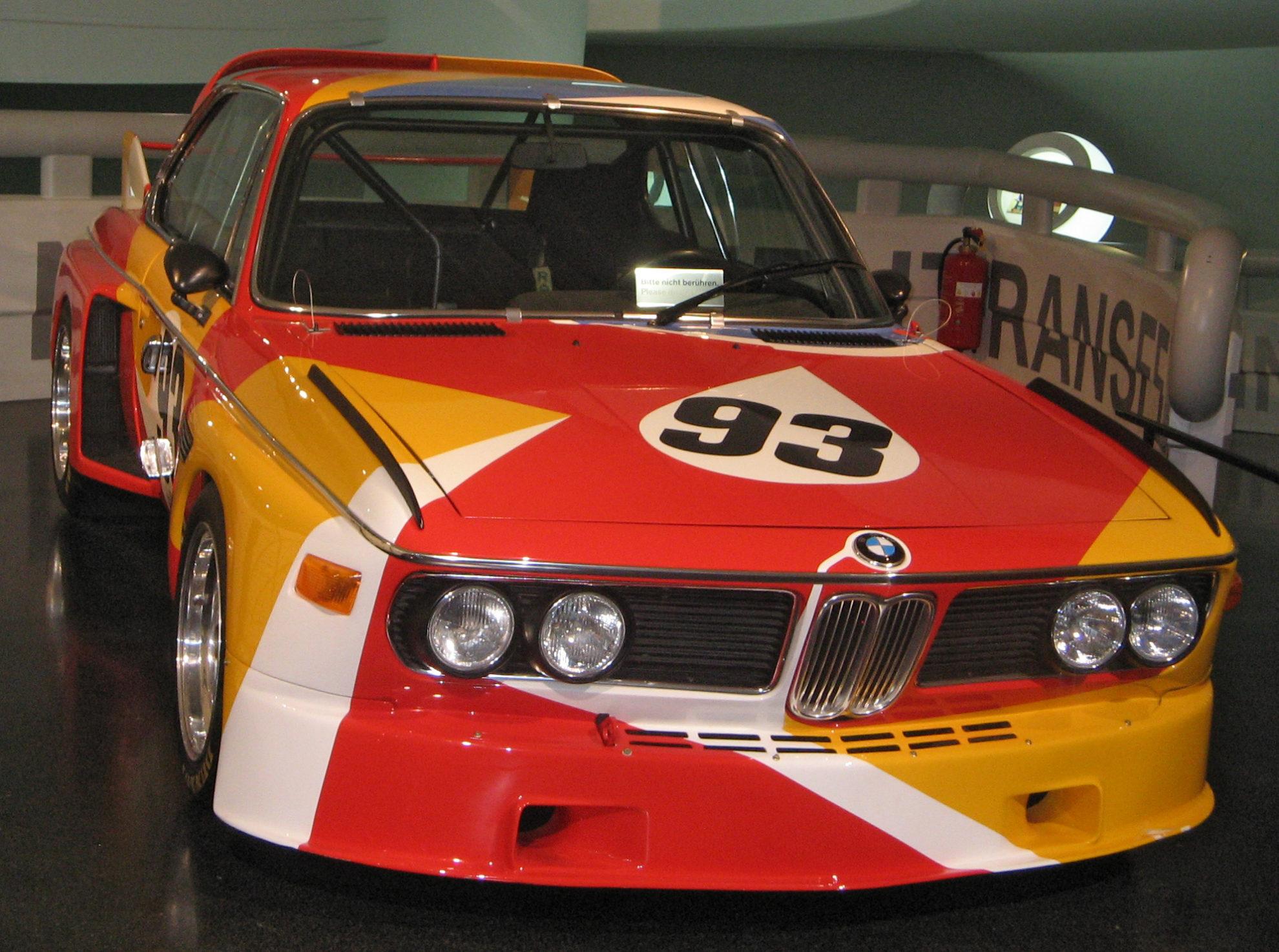 BMW E9 - 3.0 CSL Art Car (CC BY-SA 3.0)