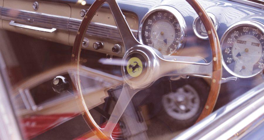 Classic Car: Ferrari Lenkrad