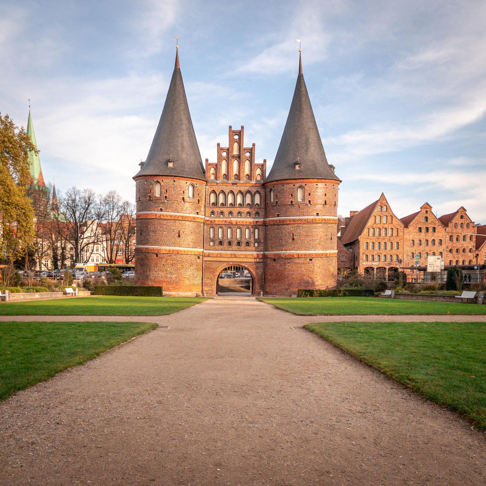 Holstentor in Lübeck (Symbolbild)