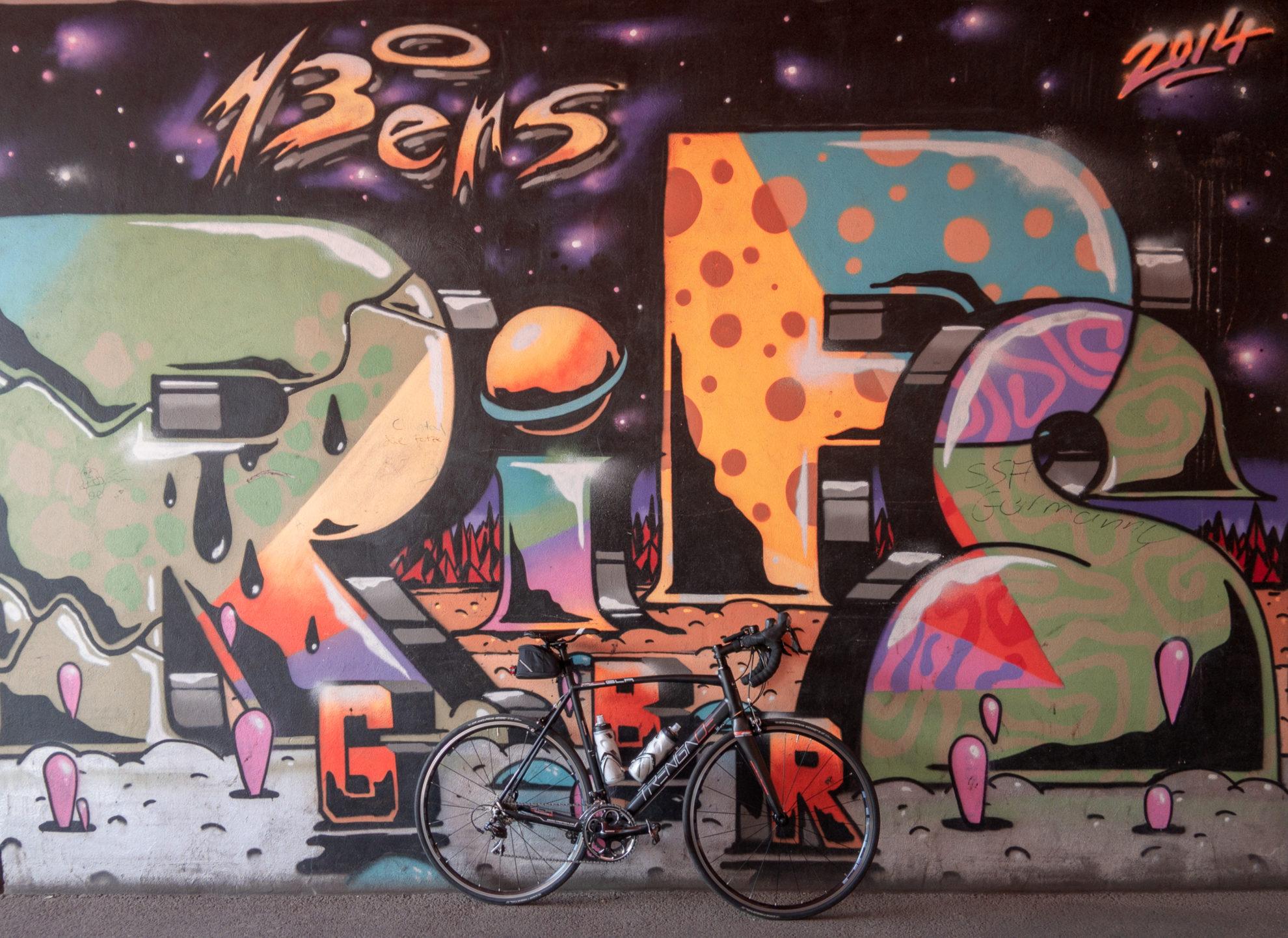 Graffiti im Tunnel der S-Bahnstation Stellingen