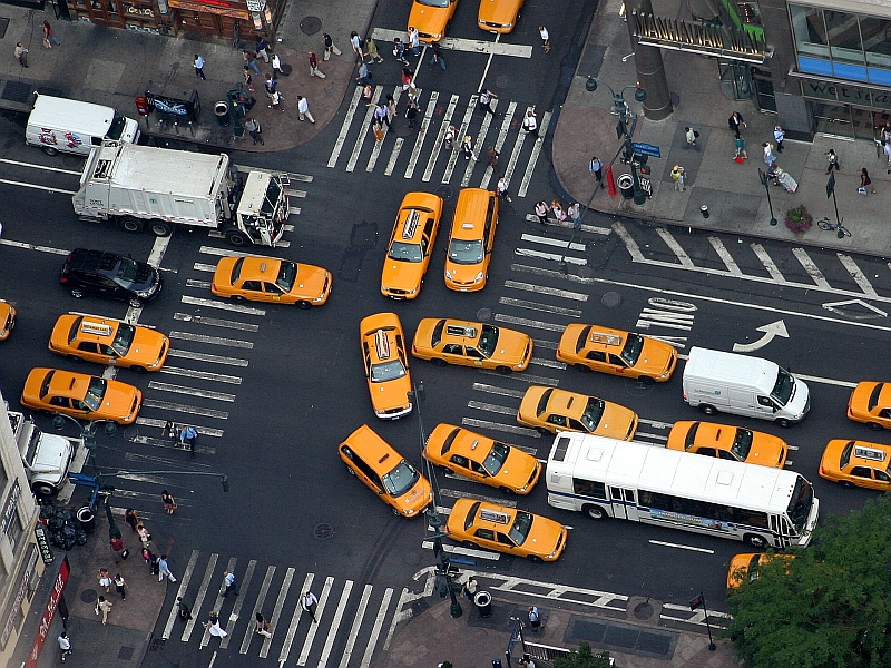 New Yorker Yellow Cabs