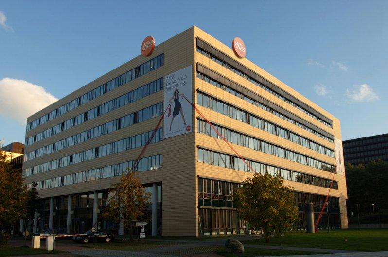 Firmensitz der HanseNet Telekommunikation GmbH in der City  Nord, Hamburg - Foto: Andreas Schmidt-Wiethoff,Hamburg/ HanseNet GmbH