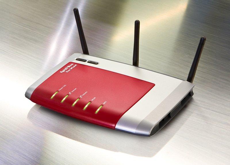 Eigene Technik kann man nur hinter dem IAD einsetzen. Zu sehen FRITZBox 7270 Bildquelle: © AVM GmbH