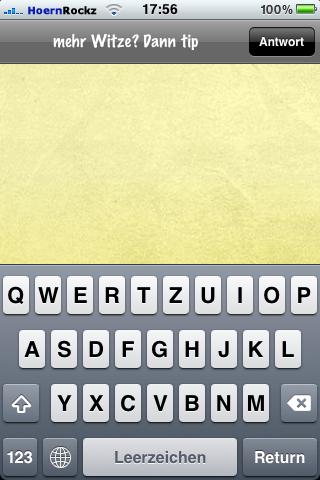 In der Version 1.1 vom 14. Mai 2010 lies sich die Tastatur nicht schließen