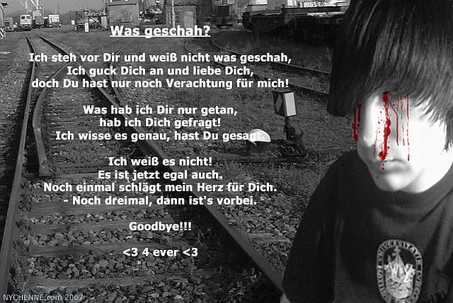 Was geschah? - Poem by Hendrik
