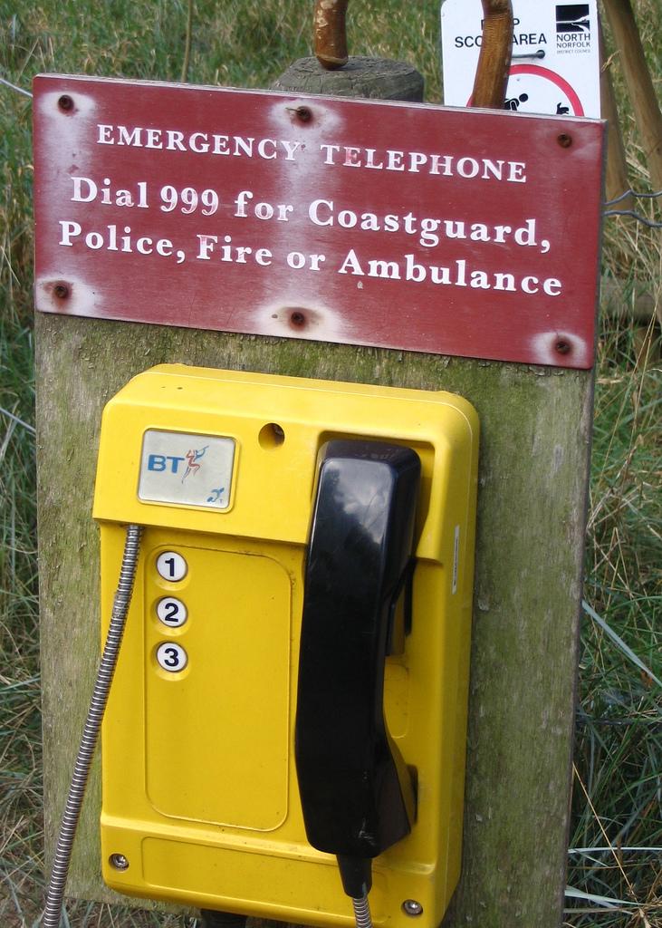 Bei Leitungsausfall ist ein Notruf ohne Mobiltelefon nicht möglich
