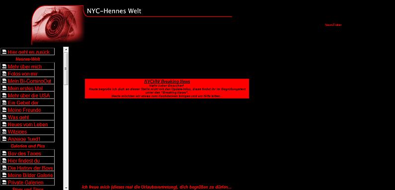 Der Anfang von NYC-Hennes-Welt